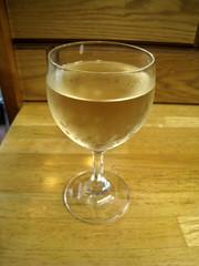 エジプト土産の白ワイン・グラス:2018-03-05.jpg