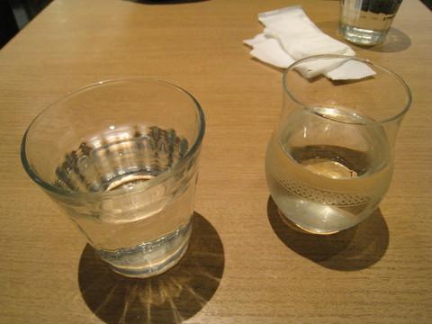 拙者のお冷やと冷酒:2017-11-23.jpg