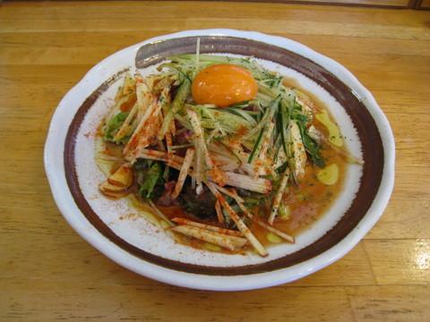 ユッケ風サラダ:2017-07-15.JPG