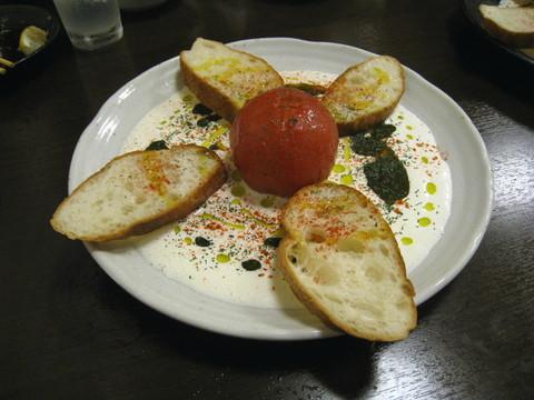 丸ごとトマトコンソメ炊き・クリームチーズソース:2017-08-04.jpg