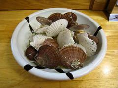 帆立稚貝のワイン蒸し:2018-04-22.jpg